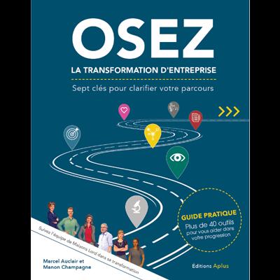 Couvertur du livre Osez la transformation d'entreprise
